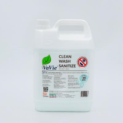 VAVIE CLEAN WASH SANITIZE 5 LITRE (2 BOTTLES)    *Free 1 bottle 500ml